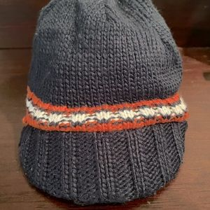 Baby Boy Knit Hat w Lid